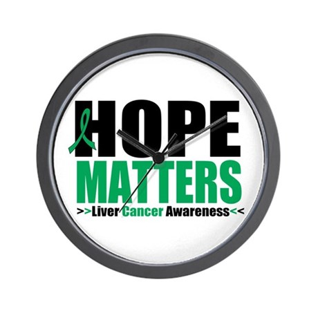 HopeMatters LiverCancer Wall Clock