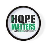 HopeMatters LiverCancer Wall Clock