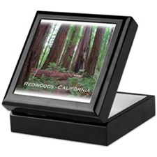Cute Redwood national park Keepsake Box