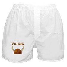 Viking Helmet Boxer Shorts
