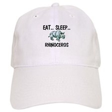 Eat ... Sleep ... RHINOCEROS Baseball Cap