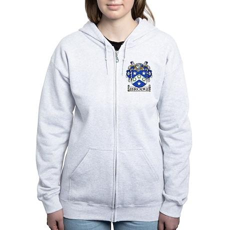 Brody Coat of Arms Women's Zip Hoodie
