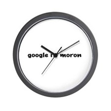 Google It Wall Clock