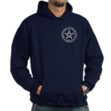Rune Pentacle Shield Hoody