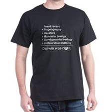 Evidence #3 = Darwin right T-Shirt
