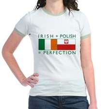 Irish Polish flags T