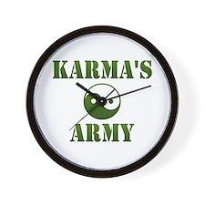 Karma's Army Wall Clock