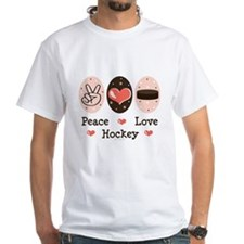 Peace Love Hockey Shirt