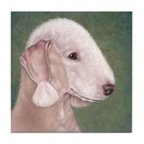 Bedlington (Liver) Tile Coaster