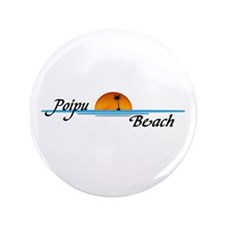 "Poipu Beach 3.5"" Button (100 pack)"