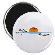 """Poipu Beach 2.25"""" Magnet (100 pack)"""