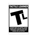 Tactile Learner Mini Poster Print