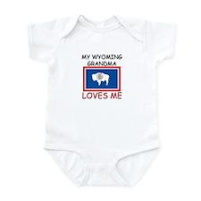 My Wyoming Grandma Loves Me Infant Bodysuit