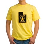 Millard County Sheriff Yellow T-Shirt