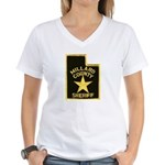 Millard County Sheriff Women's V-Neck T-Shirt