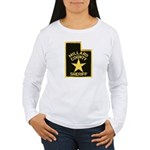 Millard County Sheriff Women's Long Sleeve T-Shirt