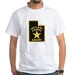 Millard County Sheriff White T-Shirt