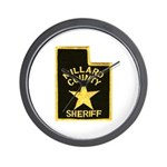 Millard County Sheriff Wall Clock