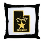 Millard County Sheriff Throw Pillow