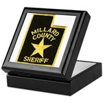 Millard County Sheriff Keepsake Box