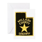 Millard County Sheriff Greeting Cards (Pk of 10)