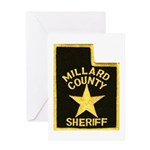 Millard County Sheriff Greeting Card