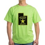 Millard County Sheriff Green T-Shirt