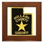 Millard County Sheriff Framed Tile