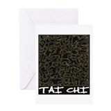 Tai Chi Greeting Card