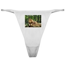 Beautiful Animal Photo Classic Thong
