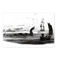 1755 Sea Serpent Postcards (Package of 8)