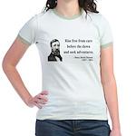 Henry David Thoreau 33 Jr. Ringer T-Shirt