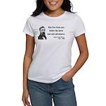 Henry David Thoreau 33 Women's T-Shirt