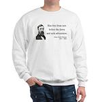 Henry David Thoreau 33 Sweatshirt