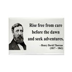 Henry David Thoreau 33 Rectangle Magnet (10 pack)