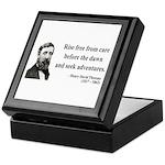 Henry David Thoreau 33 Keepsake Box