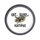 Eat ... Sleep ... PLATYPUS Wall Clock