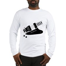 Air Guitar (right handed) Long Sleeve T-Shirt