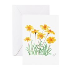 Alpine Gold Greeting Cards (Pk of 10)