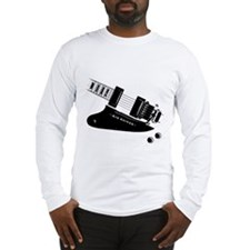 Air Guitar (left handed) Long Sleeve T-Shirt