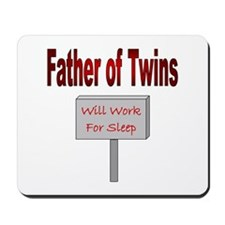 Will Work For Sleep Mousepad