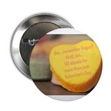 "VD more than Valentine's Day 2.25"" Button (100 pac"