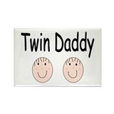 Twin Daddy, Boy/Boy Rectangle Magnet