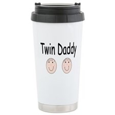 Twin Daddy, Boy/Boy Ceramic Travel Mug
