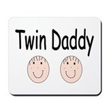 Twin Daddy, Boy/Boy Mousepad