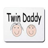 Twin Daddy, Boy/Girl Mousepad