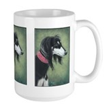 Saluki (Black and Silver) Mug