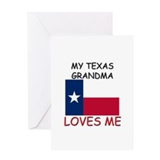 My Texas Grandma Loves Me Greeting Card