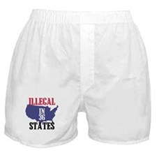 Illegal In 36 States Boxer Shorts