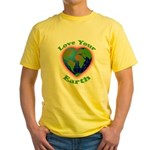 LoveYourEarth Yellow T-Shirt